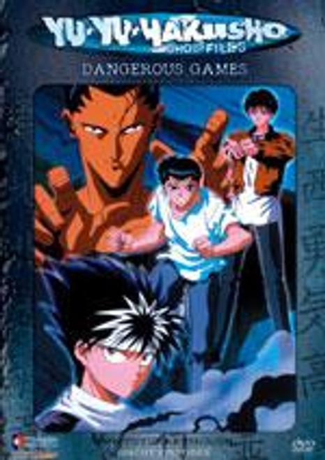 Yu Yu Hakusho Chapter Black Dangerous Games DVD #23 [Uncut]