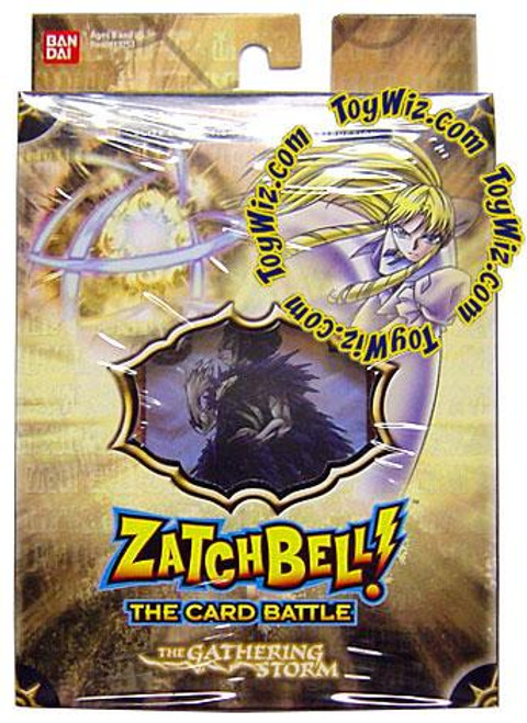 Zatch Bell Card Battle Game Gathering Storm Imminent Destruction Theme Deck [Brown Box]