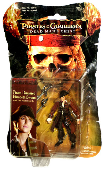 Pirates of the Caribbean Dead Man's Chest Elizabeth Swann Action Figure [Pirate Disguised]