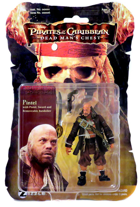 Pirates of the Caribbean Dead Man's Chest Pintel Action Figure