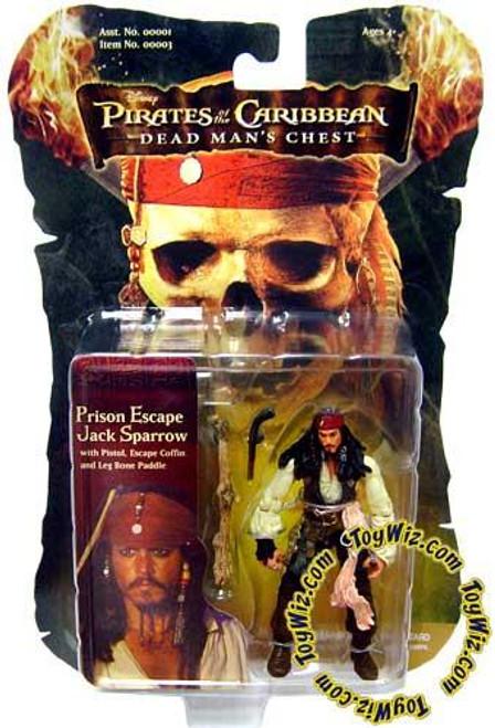 Pirates of the Caribbean Dead Man's Chest Captain Jack Sparrow Action Figure [Prison Escape]
