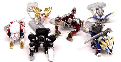 Zoids Genesis Set of 6 Keychains
