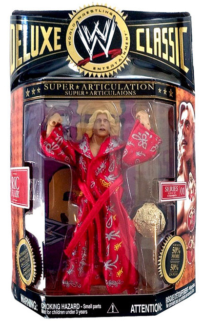 WWE Wrestling Deluxe Classic Superstars Series 1 Ric Flair Action Figure