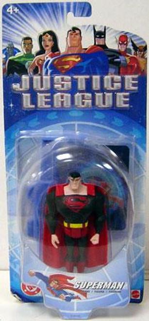 DC Justice League Superman Action Figure [Black Suit Variant]