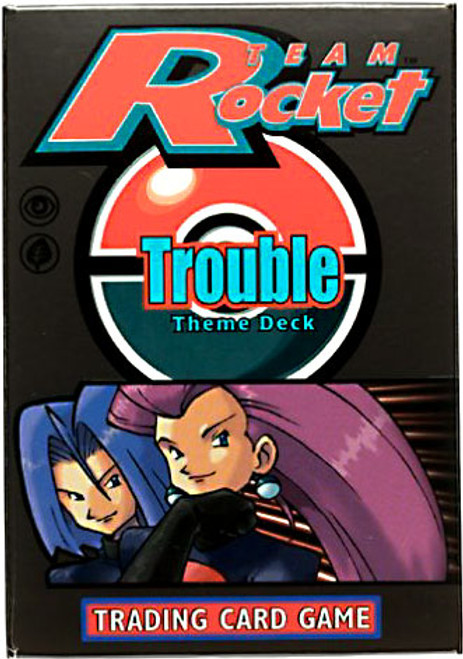 Pokemon Team Rocket Trouble Theme Deck [Sealed Deck]