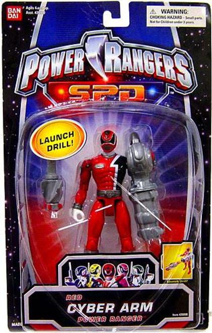 Power Rangers SPD Red Cyber Arm Power Ranger Action Figure