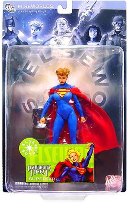 DC Elseworlds Series 3 World's Finest Supergirl Action Figure