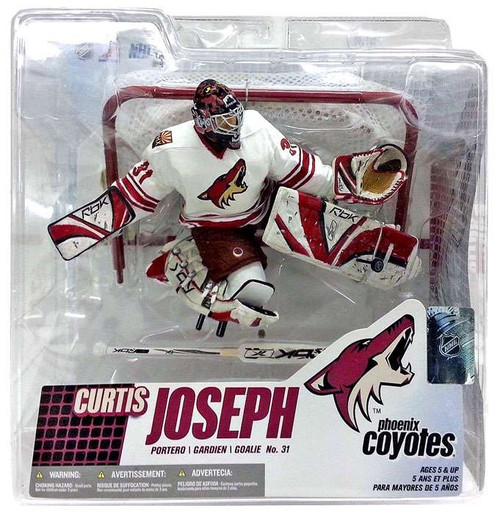 McFarlane Toys NHL Phoenix Coyotes Sports Picks Series 14 Curtis Joseph Action Figure [White Jersey]