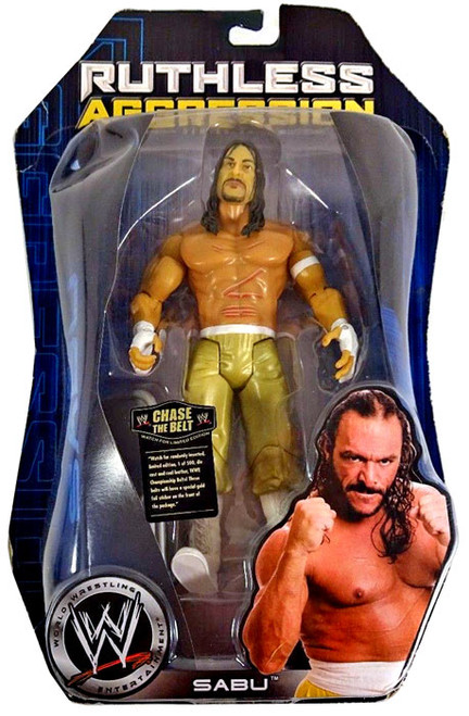 WWE Wrestling Ruthless Aggression Series 24 Sabu Action Figure [Gold Pants]