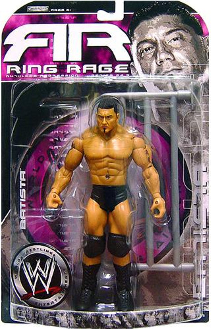 WWE Wrestling Ruthless Aggression Series 24.5 Ring Rage Batista Action Figure
