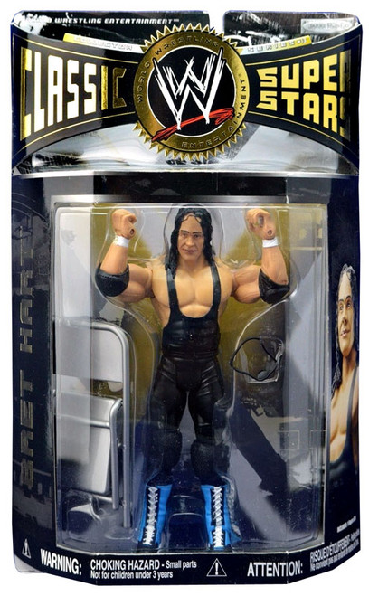WWE Wrestling Classic Superstars Series 13 Bret Hart Action Figure