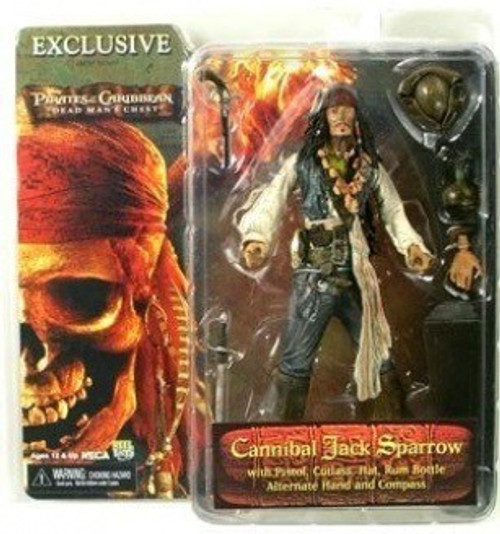 NECA Pirates of the Caribbean Dead Man's Chest Cannibal Jack Sparrow Exclusive Action Figure [Exclusive]