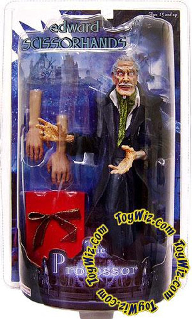 Edward Scissorhands Rotocast The Professor Action Figure