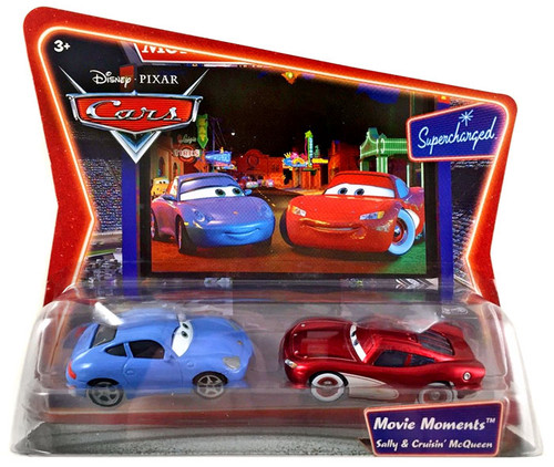 Disney Cars Supercharged Movie Moments Sally & Cruisin' McQueen Diecast Car 2-Pack