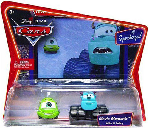 Disney Cars Supercharged Movie Moments Mike & Sulley Diecast Car 2-Pack