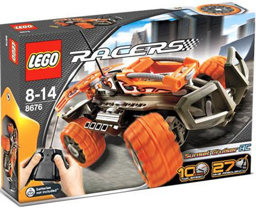 LEGO Racers Remote Control Sunset Cruiser R/C Set #8676