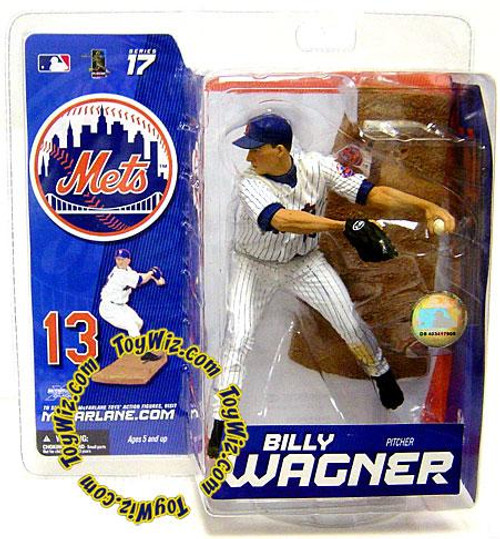McFarlane Toys MLB New York Mets Sports Picks Series 17 Exclusive Billy Wagner Exclusive Action Figure