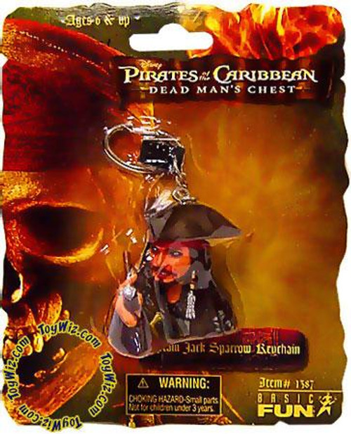 Pirates of the Caribbean Dead Man's Chest Captain Jack Sparrow Keychain