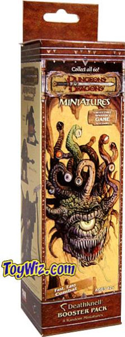 Dungeons & Dragons Trading Miniatures Game Deathknell Booster Pack