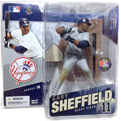 McFarlane Toys MLB Sports Picks Series 16 Gary Sheffield (New York Yankees) Action Figure [Gray Jersey Variant]
