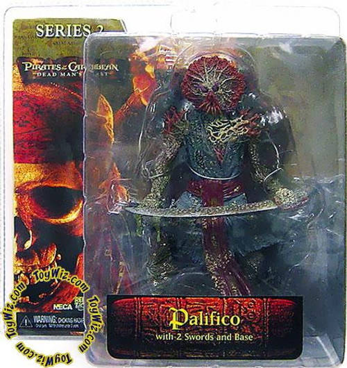 NECA Pirates of the Caribbean Dead Man's Chest Series 2 Palifico Action Figure