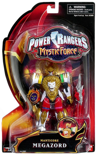 Power Rangers Mystic Force Manticore Megazord Action Figure