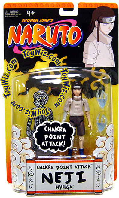 Naruto Training Neji Hyuga Action Figure [Chakra Point Attack]