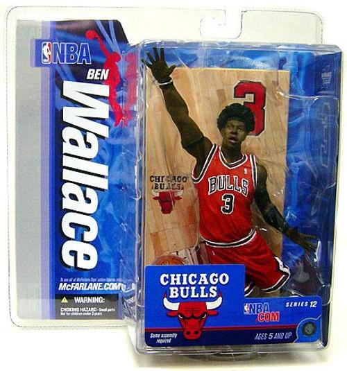 McFarlane Toys NBA Chicago Bulls Sports Picks Series 12 Ben Wallace Action Figure [Red Jersey]