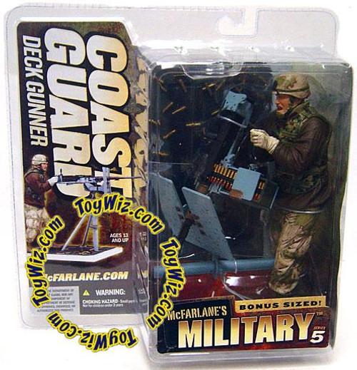 McFarlane Toys McFarlane's Military Series 5 Coast Guard Deck Gunner Action Figure [Random Ethnicity]
