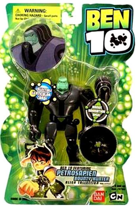 Ben 10 Alien Collection Series 1 Petrosapien Bounty Hunter Action Figure