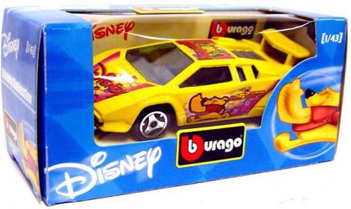 Disney Burago Winnie the Pooh Diecast Car [Yellow]