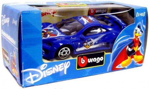 Disney Mickey Mouse Burago Donald Duck Diecast Car