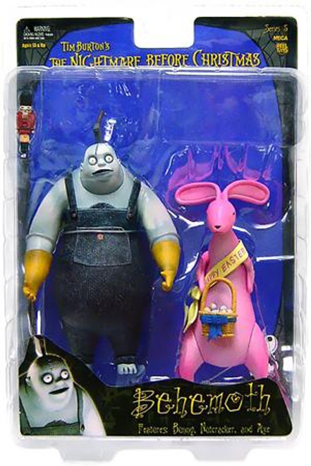 NECA The Nightmare Before Christmas Series 5 Behemoth with Bunny Action Figure