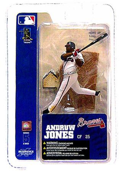 McFarlane Toys MLB Atlanta Braves Sports Picks 3 Inch Mini Series 5 Andruw Jones Mini Figure