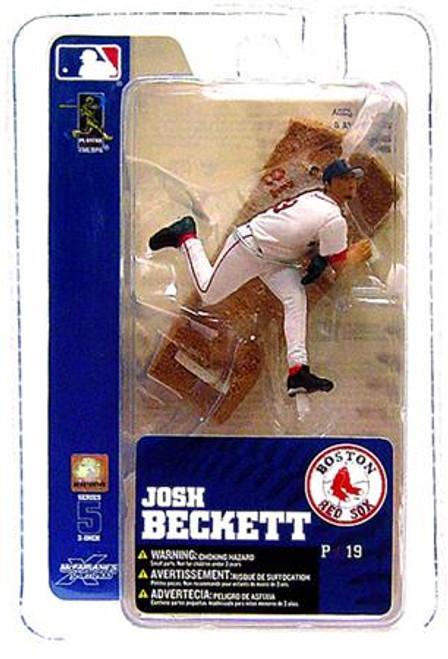 McFarlane Toys MLB Boston Red Sox Sports Picks 3 Inch Mini Series 5 Josh Beckett Mini Figure