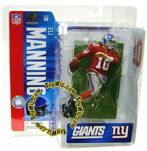 McFarlane Toys NFL New York Giants Sports Picks Series 13 Eli Manning 2 Action Figure [Red Jersey Variant]