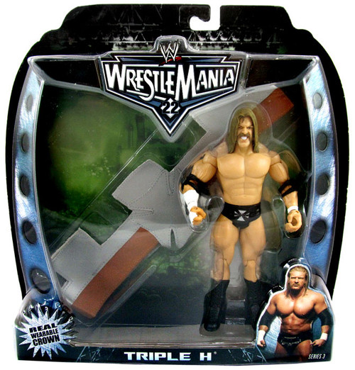 WWE Wrestling Road to WrestleMania 22 Series 3 Triple H Action Figure