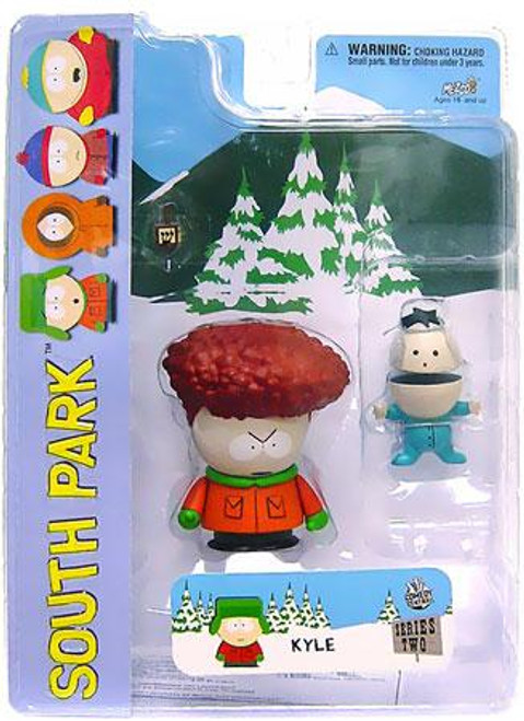 South Park Series 2 Kyle Action Figure [Afro Variant]