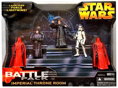 Star Wars Return of the Jedi Battle Packs 2005 Imperial Throne Room Exclusive Action Figure Set
