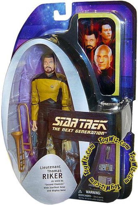 Star Trek The Next Generation TNG Series 1 Lieutenant Thomas Riker Action Figure