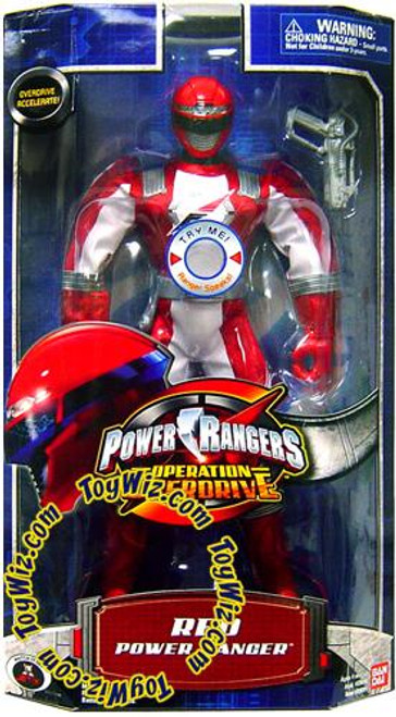Power Rangers Operation Overdrive Red Power Ranger 12 Inch Action Figure