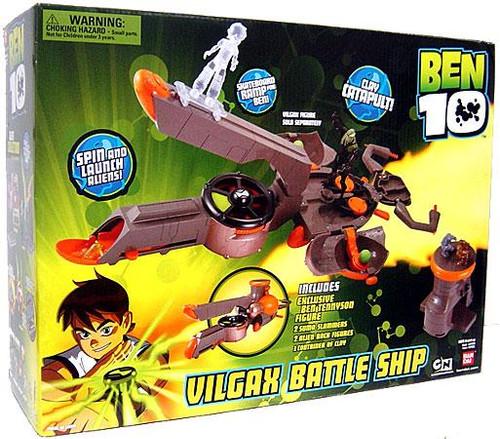 Ben 10 Ultimate Alien Vilgax Battle Ship Exclusive Playset