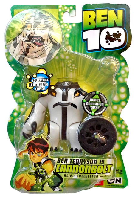 Ben 10 Alien Collection Series 1 CannonBolt Action Figure