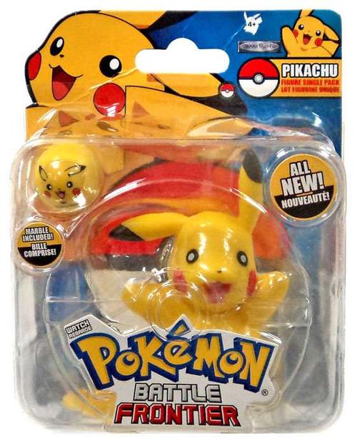 Pokemon Battle Frontier Series 1 Pikachu Figure [Version 1]
