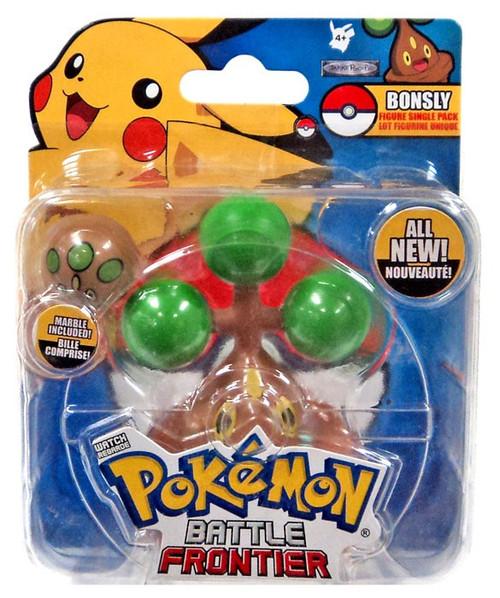Pokemon Battle Frontier Series 1 Bonsly Figure