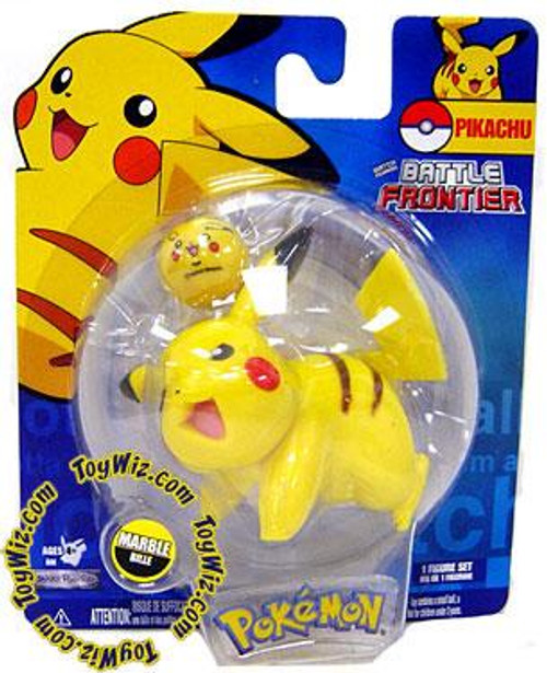 Pokemon Battle Frontier Series 2 Pikachu Figure [Version 3]