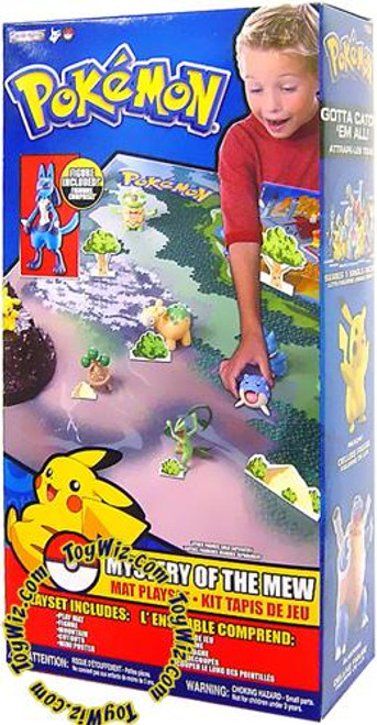 Pokemon Mystery of the Mew Playset
