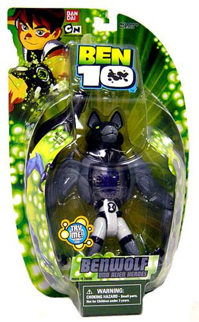 Ben 10 DNA Alien Heroes Benwolf Action Figure