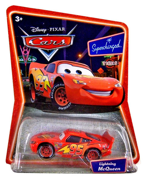 Disney Cars Supercharged Lightning McQueen Diecast Car