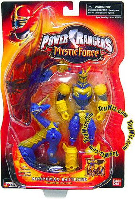 Power Rangers Mystic Force Morphmax Battlized Solaris Knight Action Figure